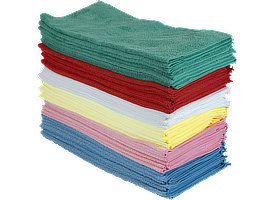 Microfiber Towels 16x16 at RagLady.com