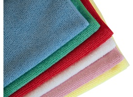 Microfiber Towels 12x12 at RagLady.com