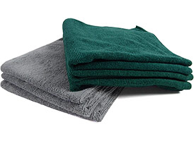 Premium Microfiber Towels 16x16 at RagLady.com