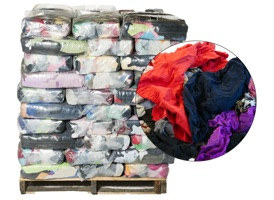 Colored Recycled T-Shirt Rags - 100 Anti-Slip 10lb Bags at RagLady.com