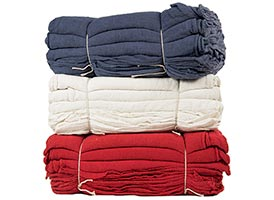 Shop Towels 100% Cotton Heavy Weight 14x14 at RagLady.com