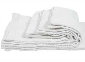 Economy Bath Towels 20x40 at RagLady.com