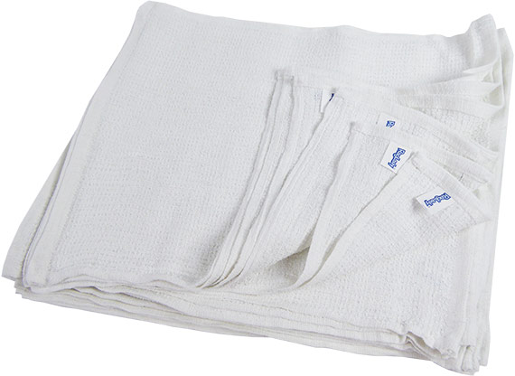 terry wiping shop towels bar mop towels 15x18 white terry 19oz 1 dozen 12 new