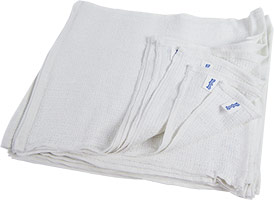 Economy Ribbed Terry Towel Cleaning Rags 15x18 at RagLady.com