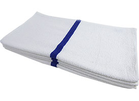 Striped Pool/Bath Towels 22x44 at RagLady.com