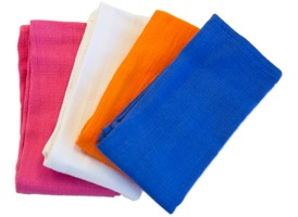 Color Coded Huck Towels 16x26 at RagLady.com
