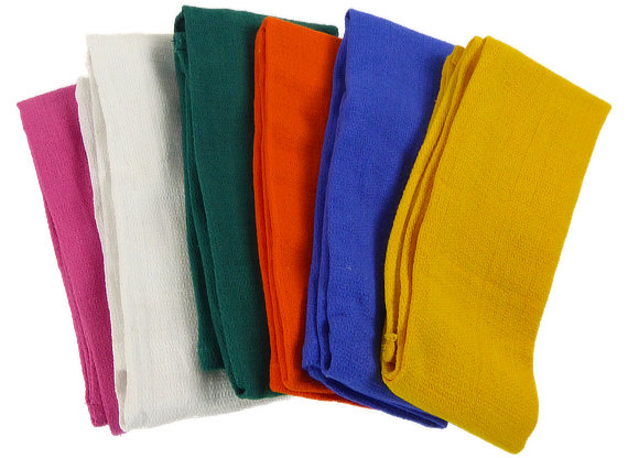 Color Coded Huck Towels 16x26