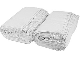 Terry Bar Mop Towels 16x19 (Prewashed) at RagLady.com