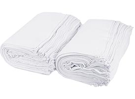 Economy Terry Bar Towels 16x19 (Prewashed) at RagLady.com