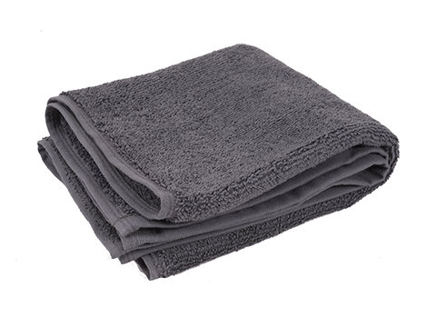 Thirsty Plush Hand Towels, Grey - 16x26 at RagLady.com