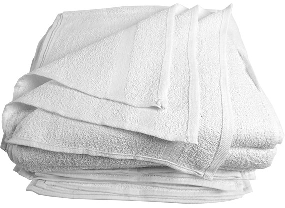 Economy Terry Hand Towels 15x25 at RagLady.com
