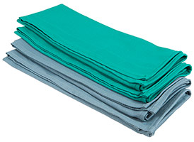 DOCTOR & DENTIST Preferred Heavy Weight Surgical Towels 17x28 at RagLady.com