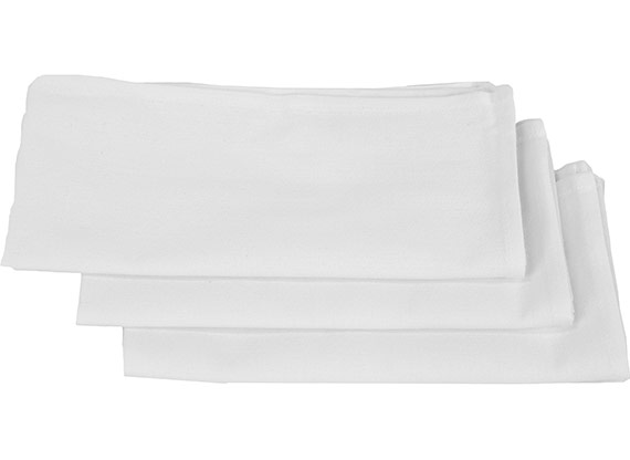 Premium Cotton Napkins 19x19 at RagLady.com