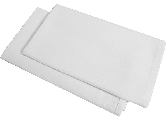 100% Cotton Wiper Exact Size 20x20 at RagLady.com