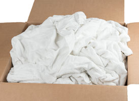 Recycled Full Size Bath Towel Rags 20x40 at RagLady.com