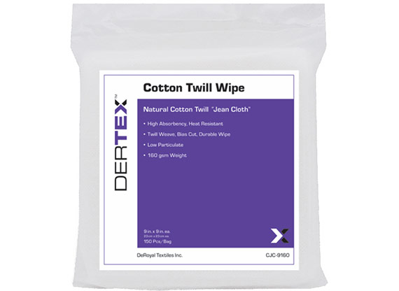 Cotton Twill Wipes