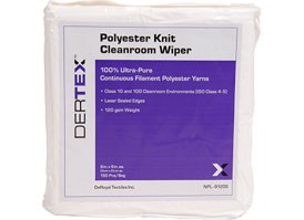 Polyester Lint Free Cleanroom Wipes 9x9 #NPL-9120S at RagLady.com