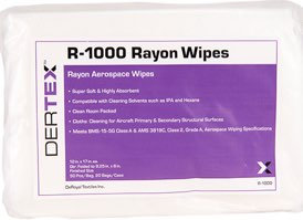 Lint Free Rayon Wipes 12x17 #R-1000 at RagLady.com