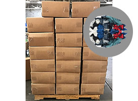Colored Recycled T-Shirt Rags - 25lb Boxes - 1000lbs at RagLady.com