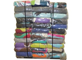 Color Turkish Towel Rags - 87 Anti-Slip 10lb Bags at RagLady.com