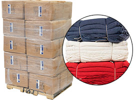 Shop Towels Heavy Weight 14x14 - 30 Cases - 1200lbs at RagLady.com