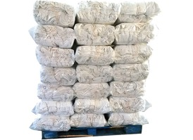 New Irregular Striped Terry Cloth Towel Rags  1000lbs (50-20lb Bags) at RagLady.com