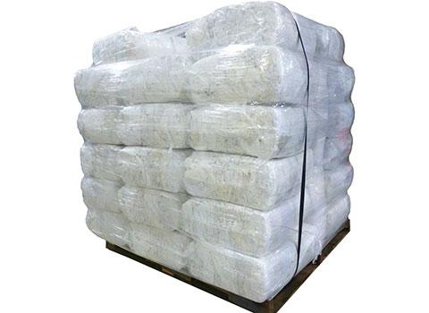 Recycled bulk t shirt rags white skid 1 000lbs for T shirt rags bulk