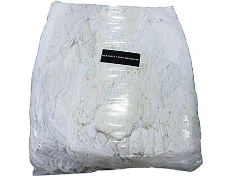 Recycled Bulk T Shirt Rags White 1 000lbs Buy Rags