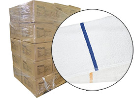 Terry Bar Mop Rags 16x19 - 30 Cases at RagLady.com
