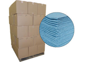 New Irregular Lint Free Wipes 12x12 #95206- 35 Cases at RagLady.com