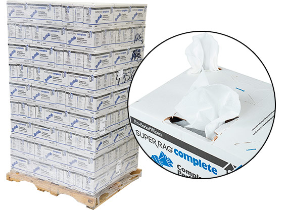 Economy Lint Free Wipes 12x17 #93560 - 126 Cases at RagLady.com