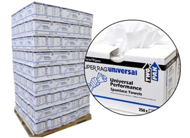 PRO Pop-Up Box Lint Free Wipes 12x17 #93570 - 126 Cases at RagLady.com