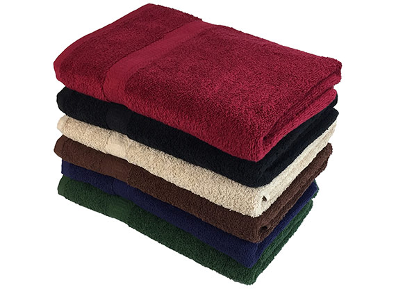 Bulk True Color Bath Towels 25x52 at RagLady.com