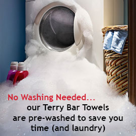Terry Bar Towels