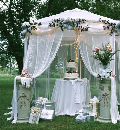 Window Twinkle Tent (#60 Cheesecloth)